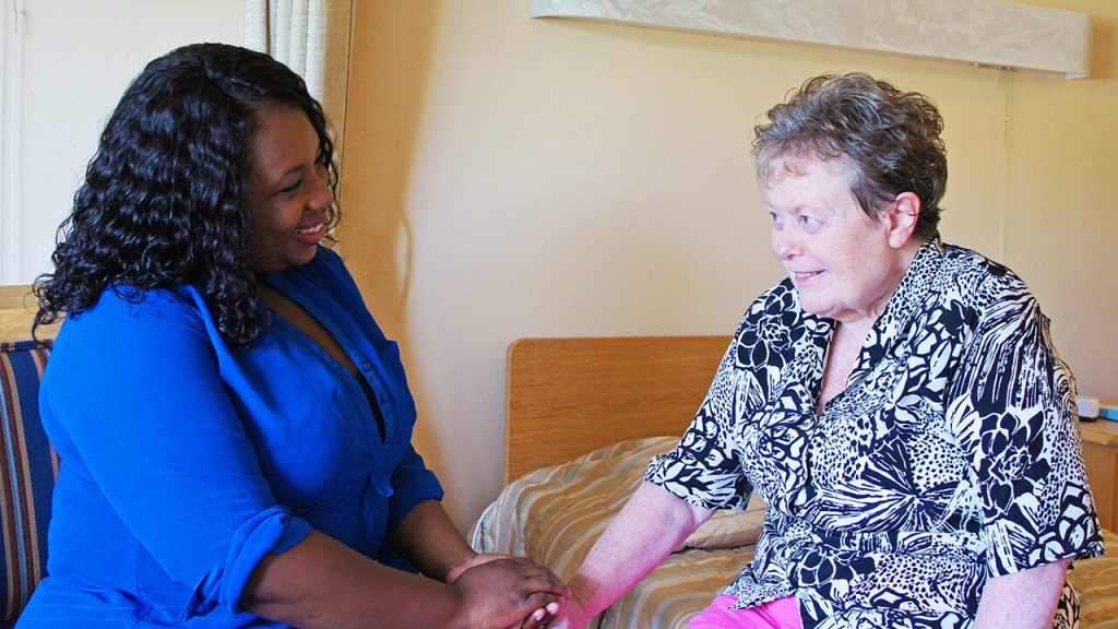Therapist Patient Greeting