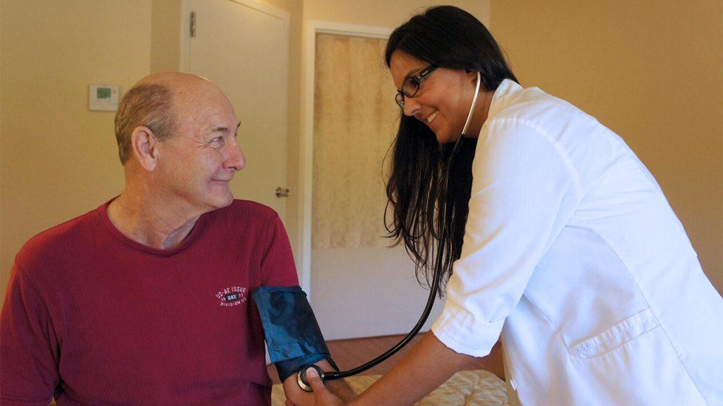 Patient Nurse Blood Pressure 2