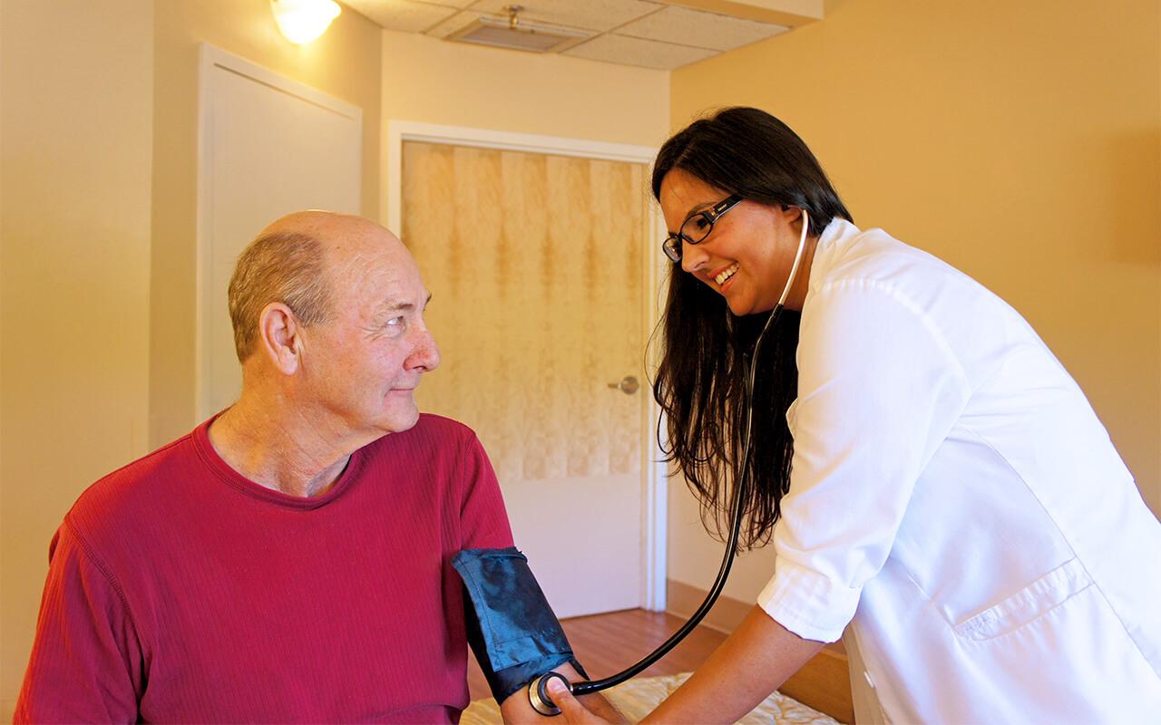 Patient Nurse Blood Pressure