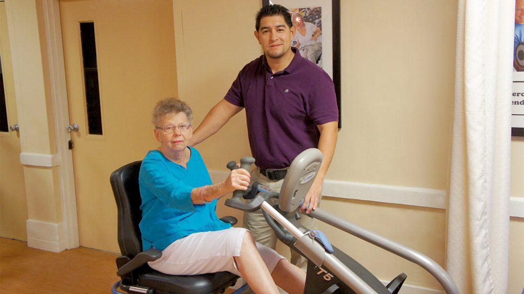 Therapist Patient Exercise machine